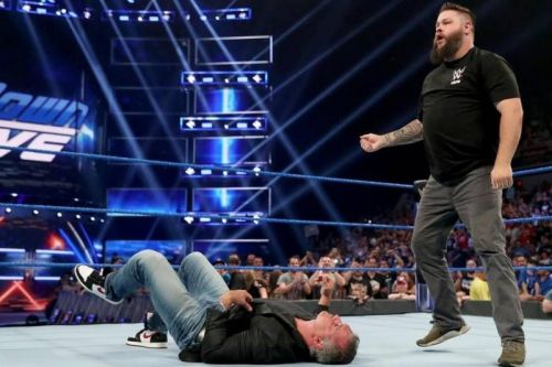 Kevin Owens is one of the few that's better off, and even that was flat.