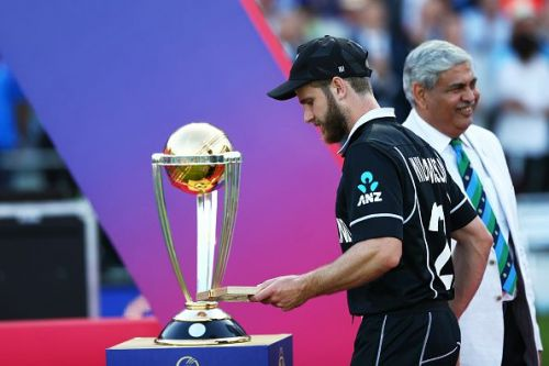 Had a little bit of luck gone their way, New Zealand would have been the team lifting this.