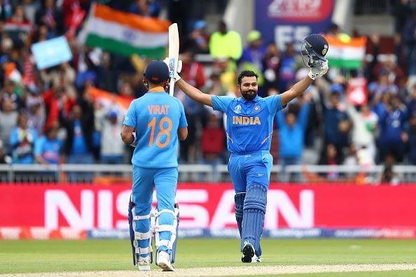 Rohit Sharma was the highest run scorer in the tournament