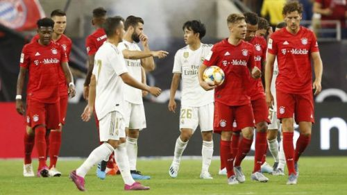 Real Madrid lost 3-1 to Bayern Munich in a friendly match