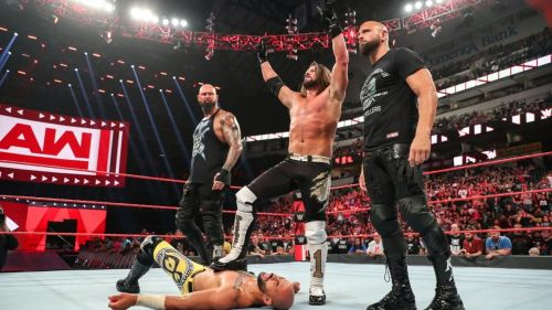 AJ Styles made an emphatic statement as he reunited with The Club to attack Ricochet