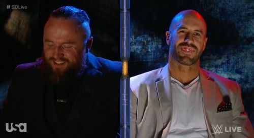 Cesaro has accepted Aleister Black's challenge
