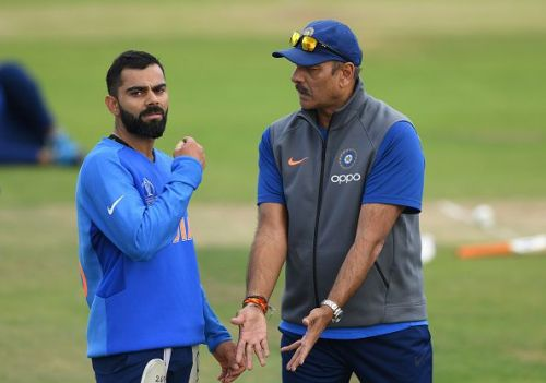 Virat Kohli & Ravi Shastri