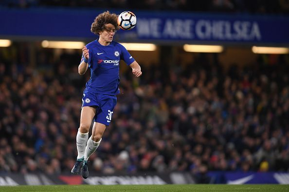 Luiz enjoyed a successful season with Chelsea, finishing third and winning the Europa League
