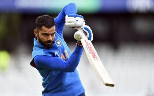 Eyes on the ball: Virat Kohli is the world's premier batsman.
