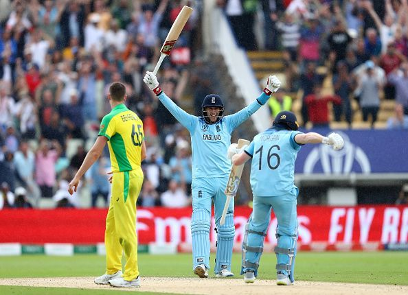 Australia v England - ICC Cricket World Cup 2019 Semi-Final