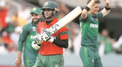 Shakib Al Hasan shone with both bat and ball
