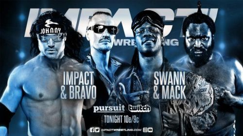 Johnny Impact hoped to bang up Rich Swann before his title match at Slammiversary