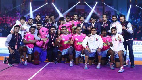 Jaipur Pink Panthers are inaugural champions of Pro Kabaddi League.