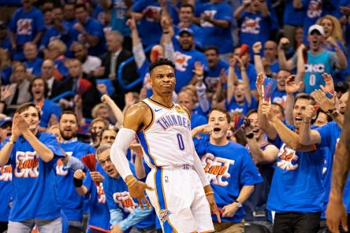 Is Russell Westbrook's time with the Oklahoma City Thunder about to come to an end?