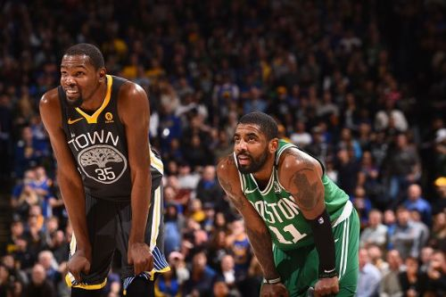 Kevin Durant and Kyrie Irving are all set to team up in the Big Apple