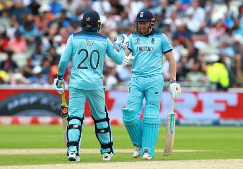 Jason Roy and Jonny Bairstow- The force behind England's dominance