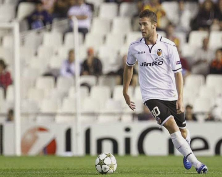 Carlos Delgado made one appearance for Valencia in the 2012-13 UEFA Champions League group stage