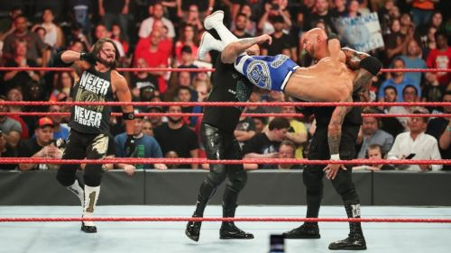 Ricochet paid for picking up the win last night