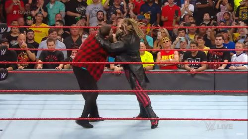 This was the most terrifying moment of WWE RAW Reunion