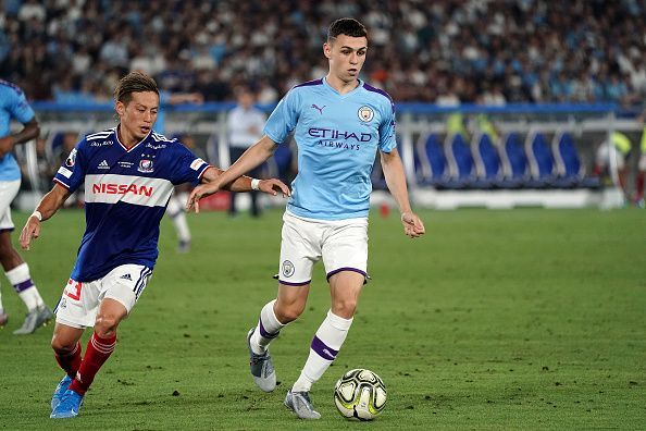 Pep Guardiola has described Phil Foden as the most talented player he's ever seen