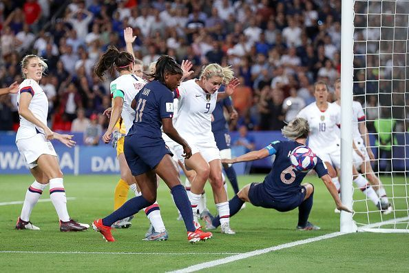 The United States claimed an impressive victory over hosts France in the quarter-finals