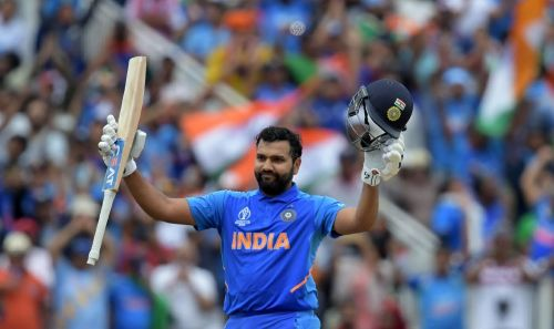 Rohit sharma scored his 5 centuries in the worldcup