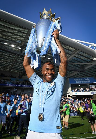 Raheem Sterling enjoyed another successful season with the Cityzens