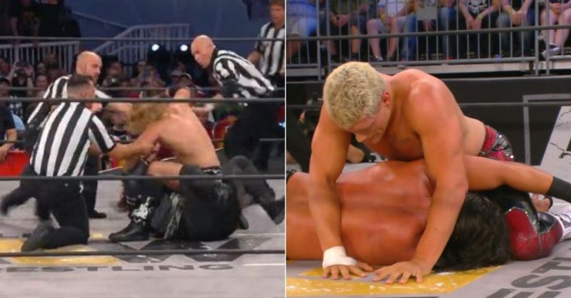 AEW Fight For The Fallen Results: Jericho bloodies AEW star, Main-event ends with emotional moment