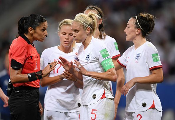 Captain Steph Houghton is a key figure for Phil Neville