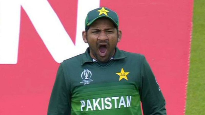 Sarfaraz Ahmed Was Yawning in Match Against India