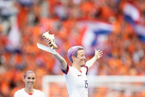 Megan Rapinoe won the Golden Boot and was the tournament's most colorful personality.