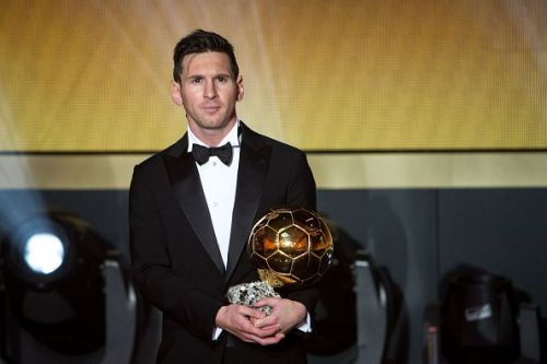 Messi has not lifted the Ballon d'Or since 2015.