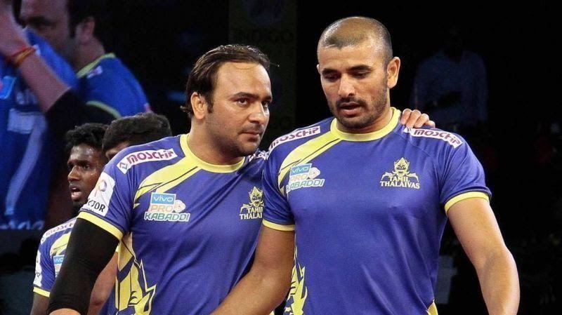 Ajay Thakur and Manjeet Chhillar will yet again play for Tamil Thalaivas in Season 7.