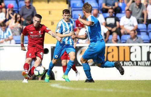 Chester FC take on Liverpool in a pre-season friendly