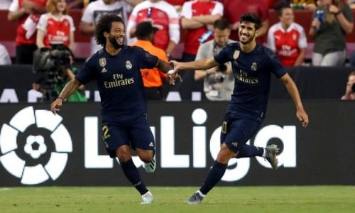 Real Madrid came from two goals down to defeat Arsenal on penalties