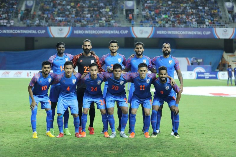 Second string Indian side conceded three goals in the first half