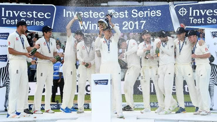 England Test Cricket