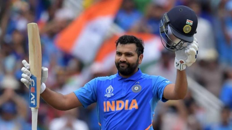 Rohit Sharma century leads India to a big total