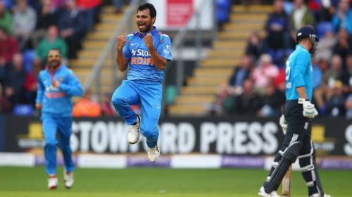 England V India 4th ODI, Birmingham, 2014