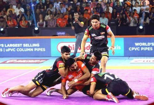 प्रो कबड्डी 2019, 15वां मैच: यू मुंबा vs बेंगलुरु बुल्स