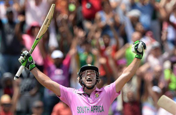 AB de Villiers, the man above