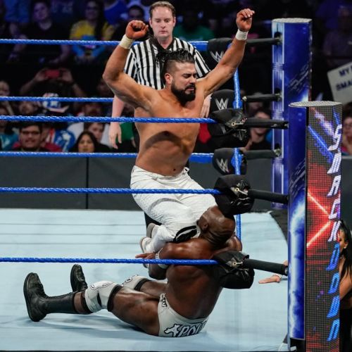 Andrade's offence could be devastating more often on TV