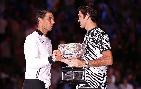 Federer and Nadal have dominated the tennis circuit in recent years