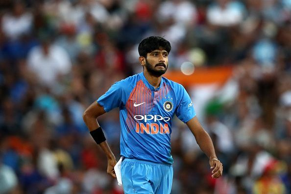 New Zealand v India - International T20 Game 3 England Lions v India A - Day Two
