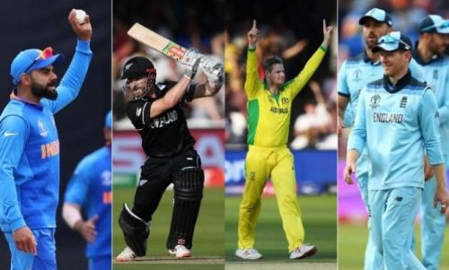 India, Australia, England and New Zealand have advanced to the semi finals on the back of some excellent brand of cricket played by the sides