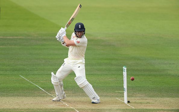 Jack Leach was awarded the Man of the Match