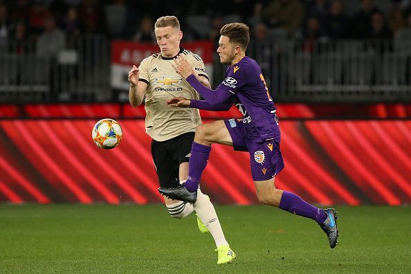 McTominay provides impetus to the United midfield.