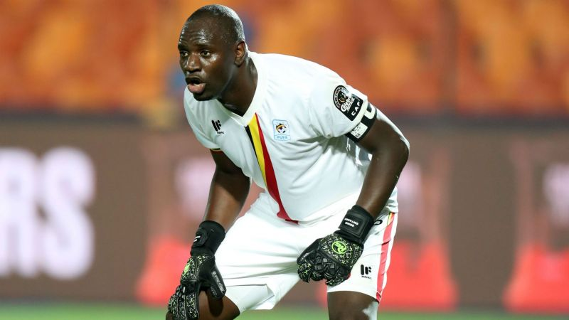 Although Onyango was lucky to stay on the pitch, he kept Uganda alive