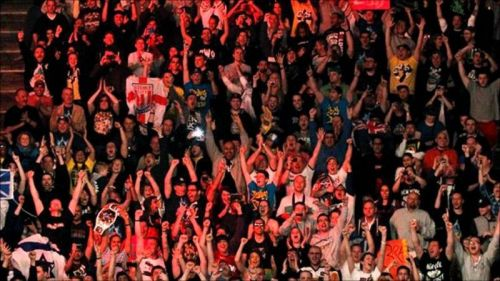 Random crowd shot from a WWE event.