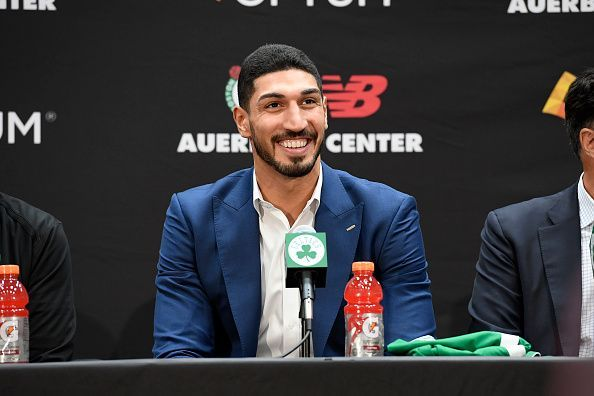 Enes Kanter is hoping to win a title with the Boston Celtics