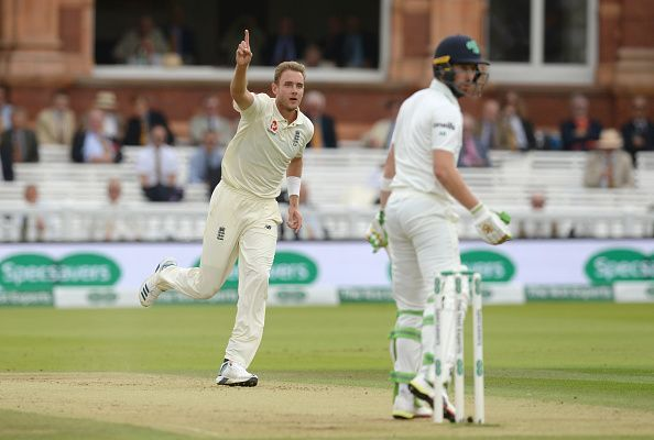 Stuart Broad was almost unplayable on the third day of the Test.