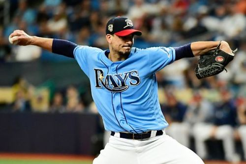 Charlie Morton has proven to be a quality offseason pickup for the Rays