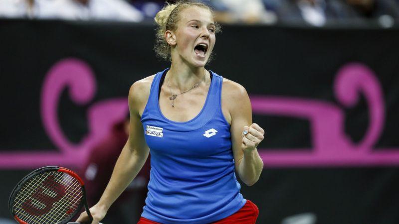 WTA明星Katerina Siniakova