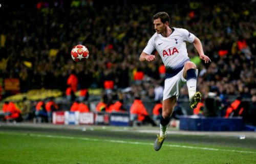Vertonghen turned up with a fantastic all-round display against Dortmund